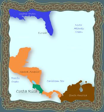 Central America Costa Rica Where is Costa Rica Located